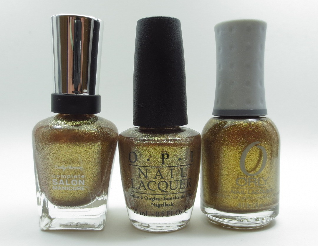 Frazzle And Aniploish Opi Skyfall Comparisons Part 1