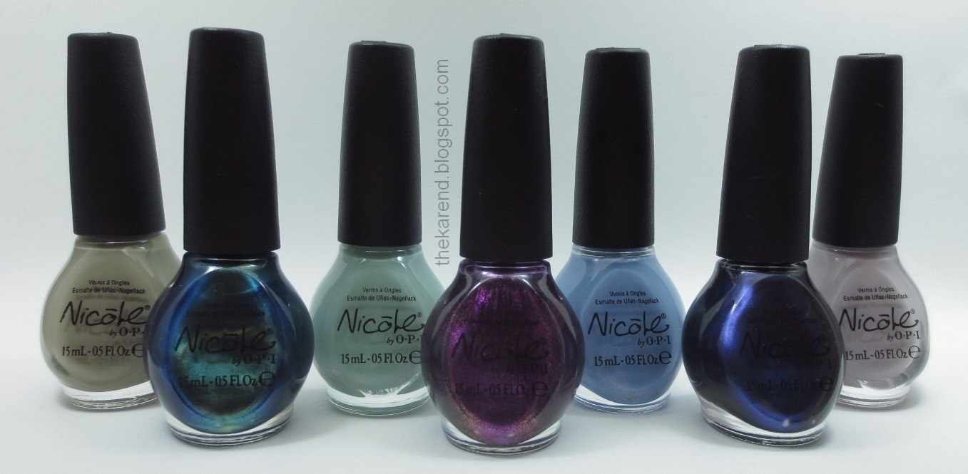 Frazzle and Aniploish: Nicole by OPI Modern Family Collection, Part 1