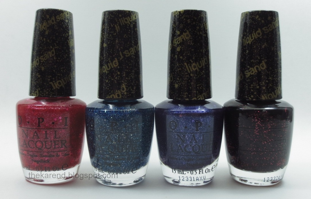 Frazzle and Aniploish: OPI Mariah Carey Collection, Part 2