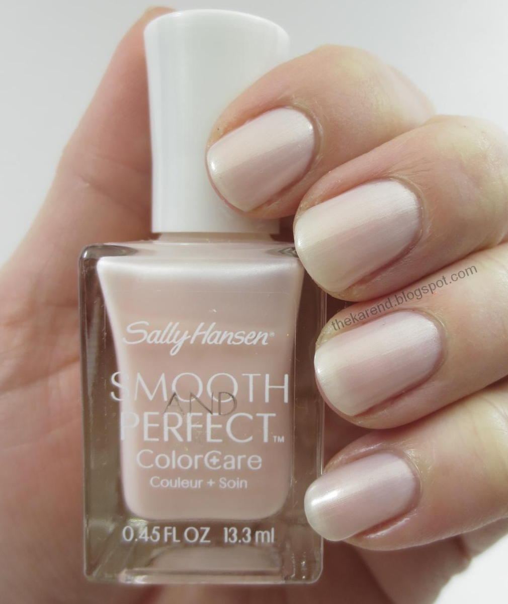 Frazzle and Aniploish: Recent NOTD: Sally Hansen Smooth and Perfect ...