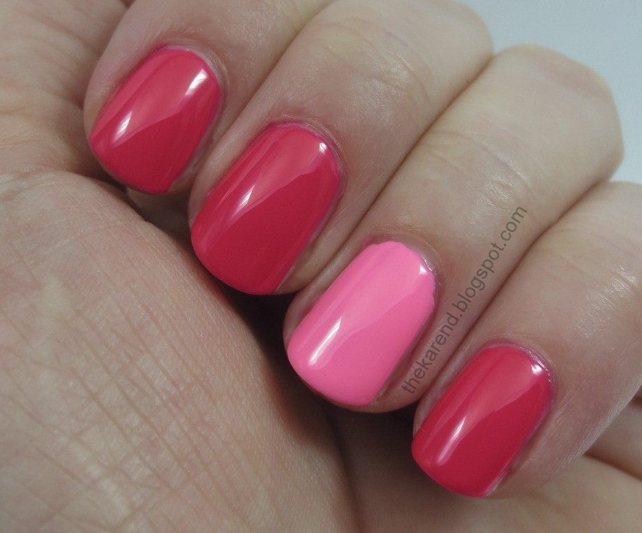 Frazzle and Aniploish: Color Club and Ruby Wing Combinations