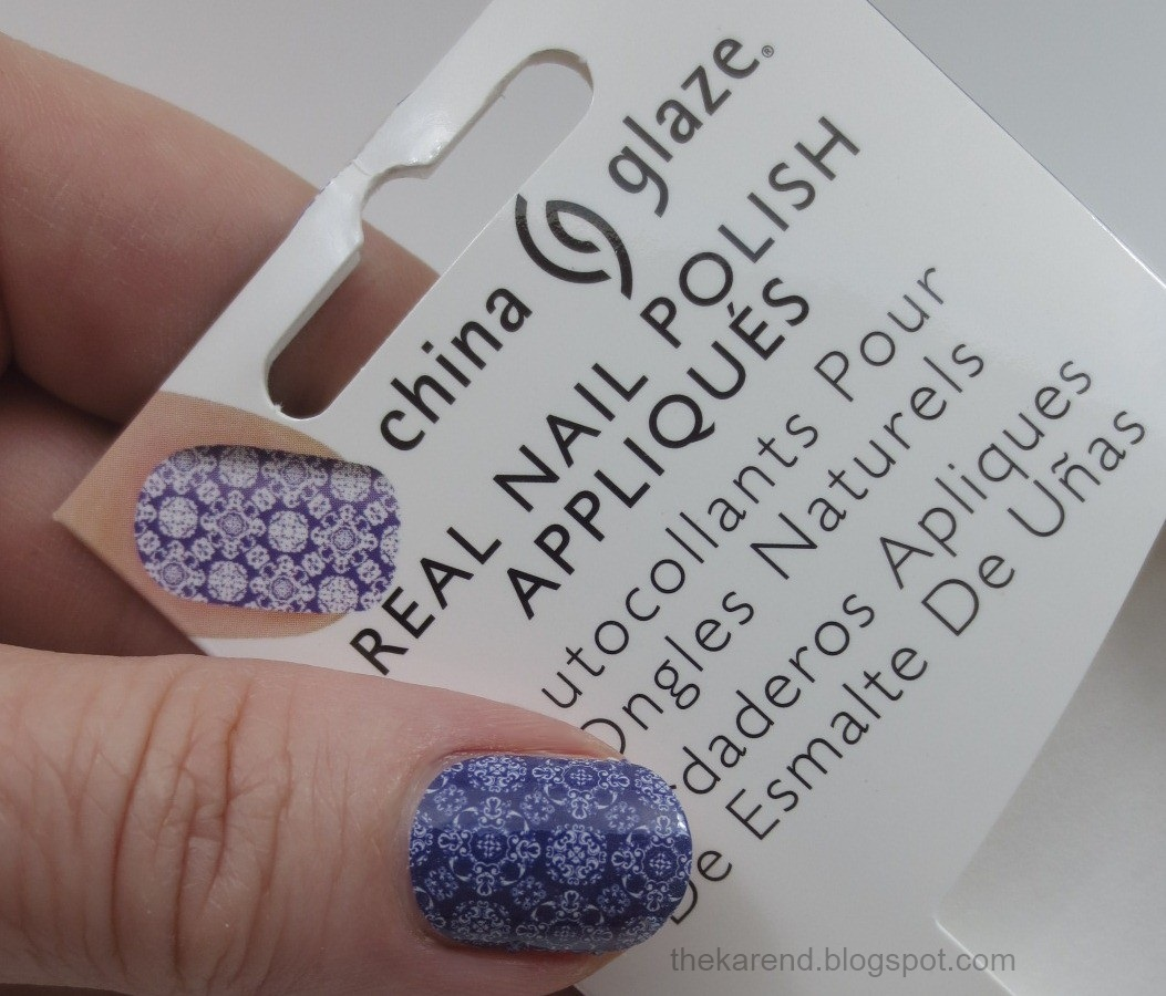 Frazzle and Aniploish: Recent NOTD: China Glaze Beyond Baroque Nail ...