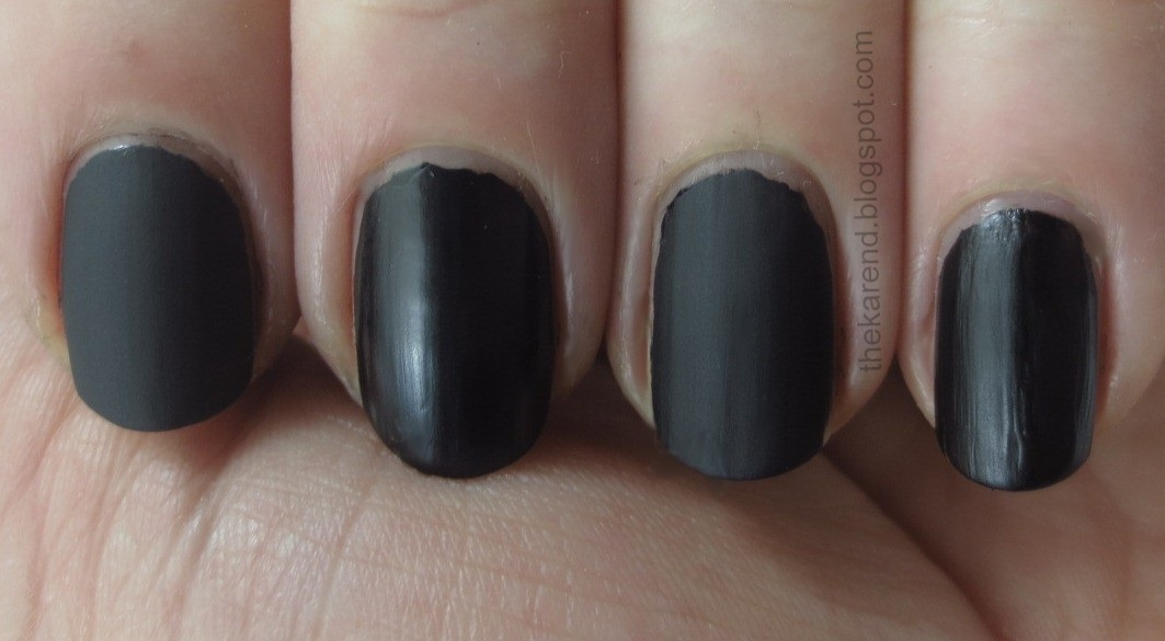 Frazzle and Aniploish: OPI Matte Topcoat and Comparisons