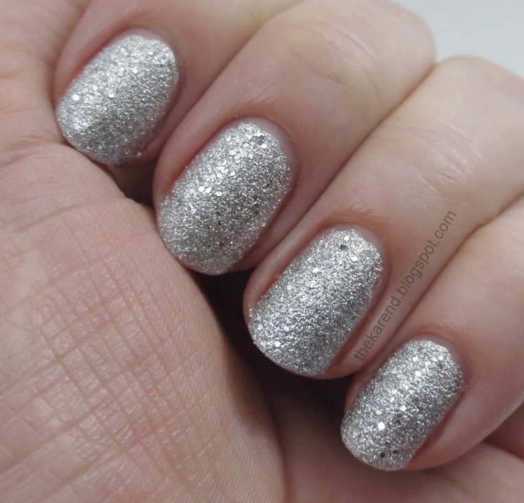 3f2d0dfc722e Silver Pixel has silver microglitter with scattered silver hex glitter.