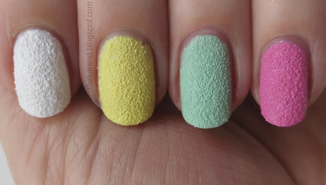 Frazzle and Aniploish: Sally Hansen Sugar Coat Skittle Swatches and ...