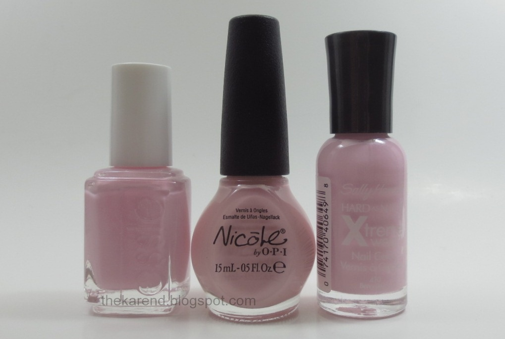 Frazzle and Aniploish: Essie 2013 Wedding Collection Comparisons
