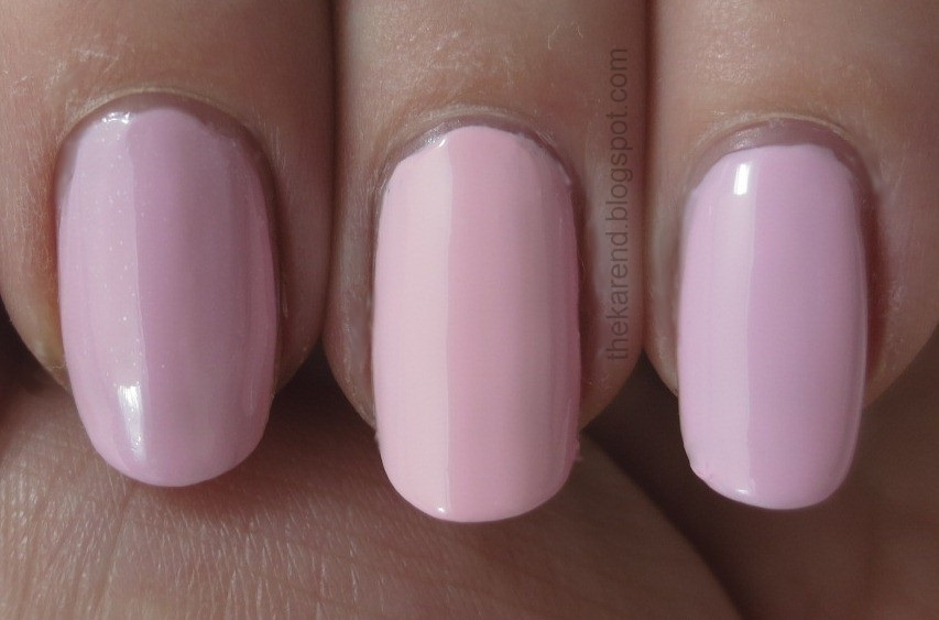 essie meet me at the altar and go ginza