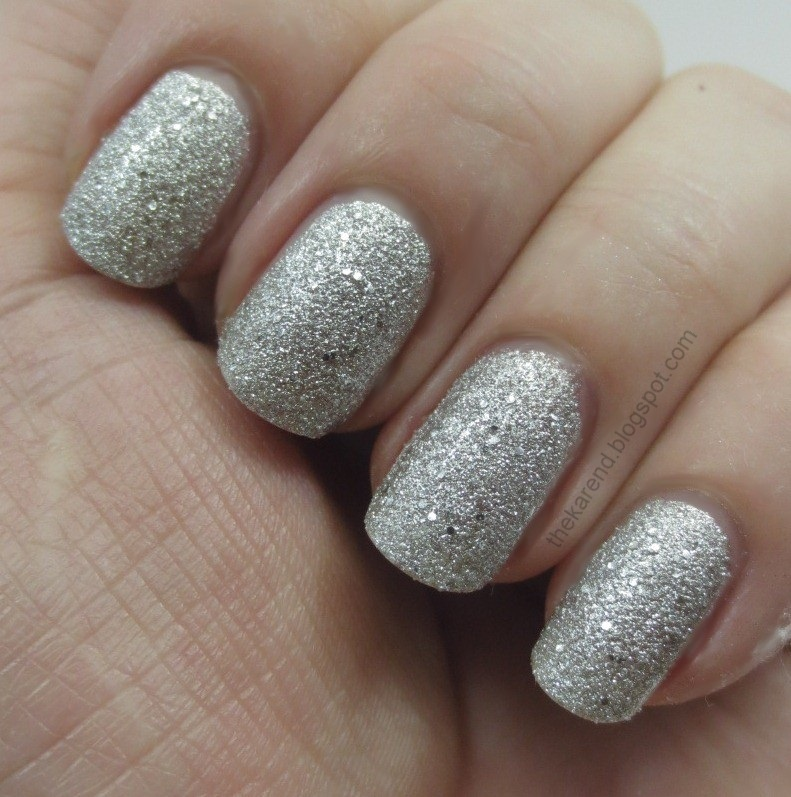 Frazzle and Aniploish: Textured Glitters from Nina Ultra Pro and Icing