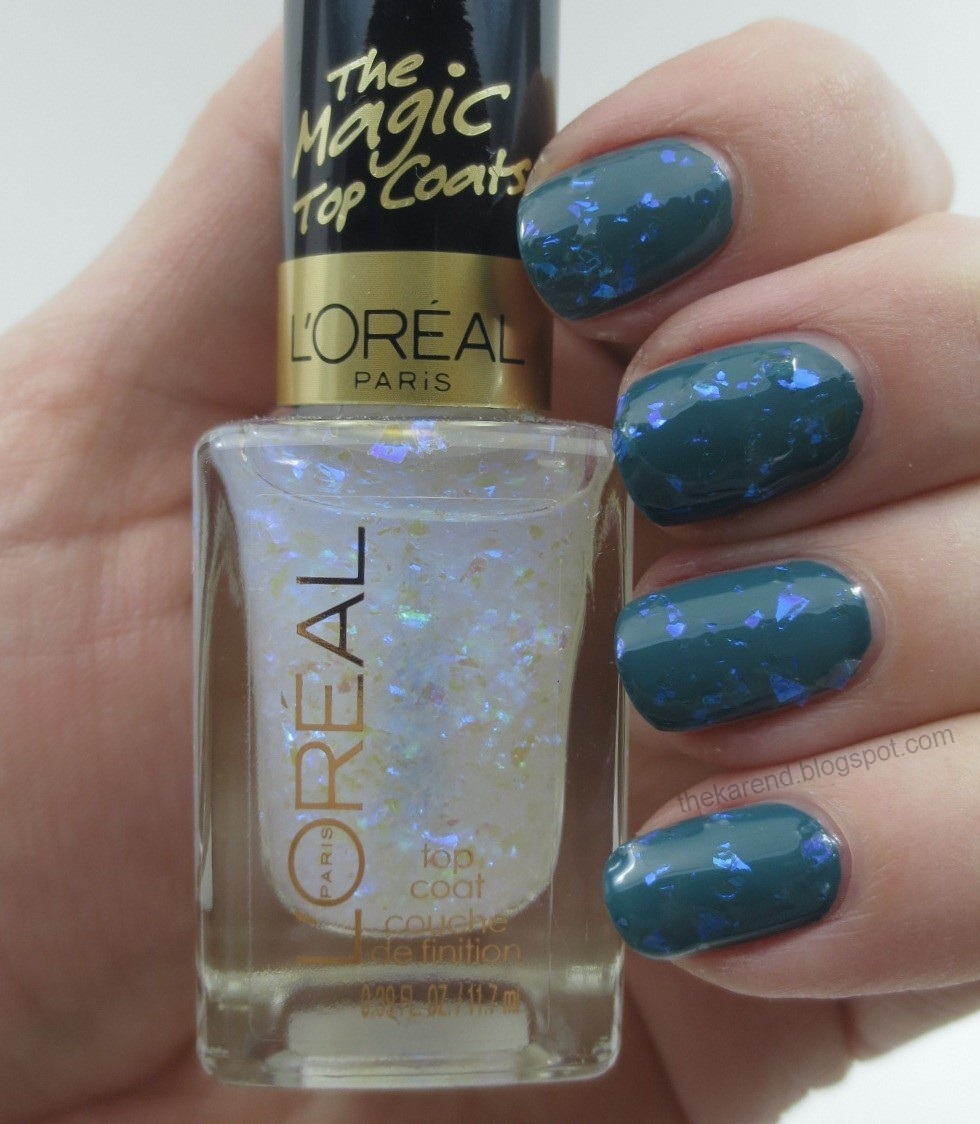 Frazzle and Aniploish: L\'Oreal The Magic Top Coats