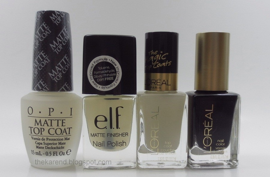 Frazzle and Aniploish: Matte Topcoat Comparisons, Part 5