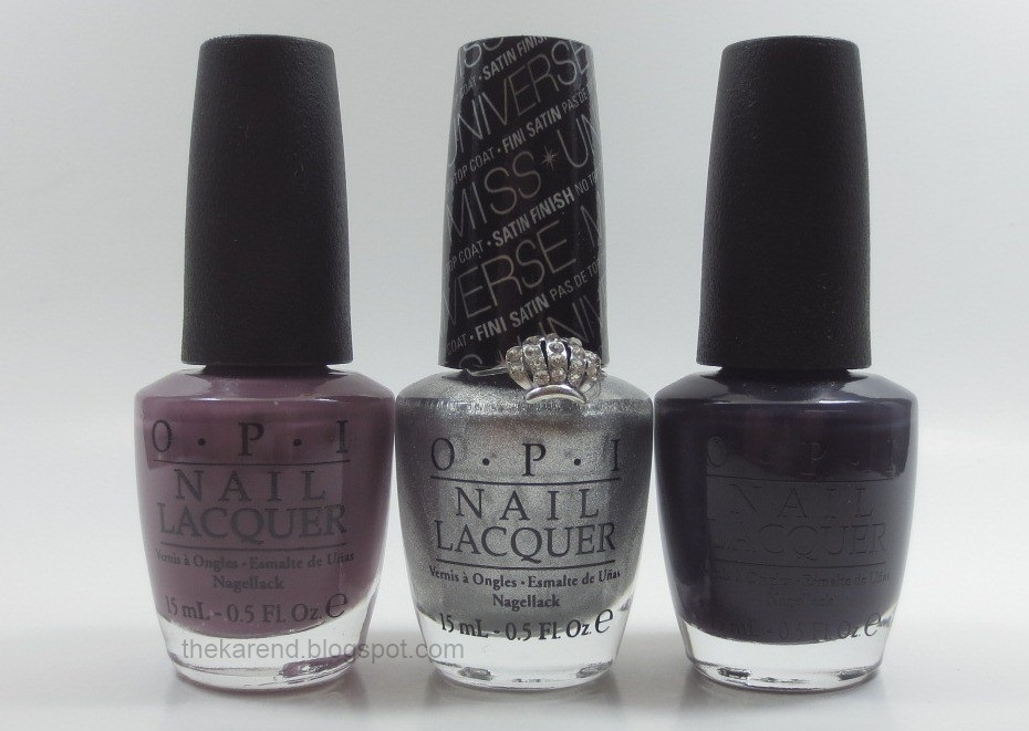 Frazzle and Aniploish: OPI Miss Universe 2013 Collection Swatches ...