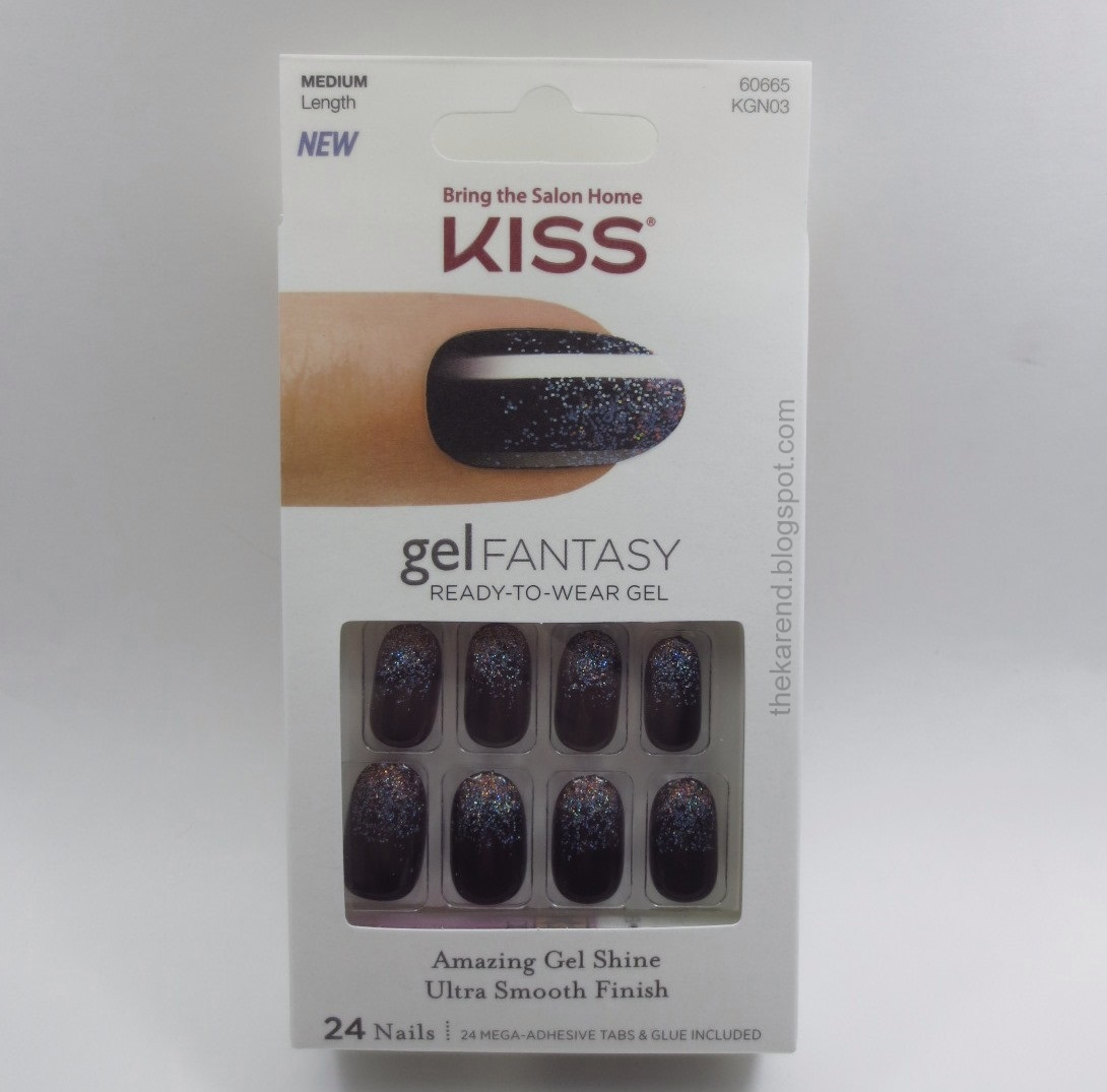 Frazzle and Aniploish: Recent and Actual NOTD: Kiss Gel Fantasy Nails