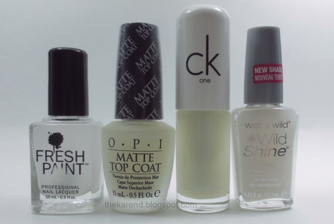 Frazzle and Aniploish: Matte Topcoat Comparisons, Part 7