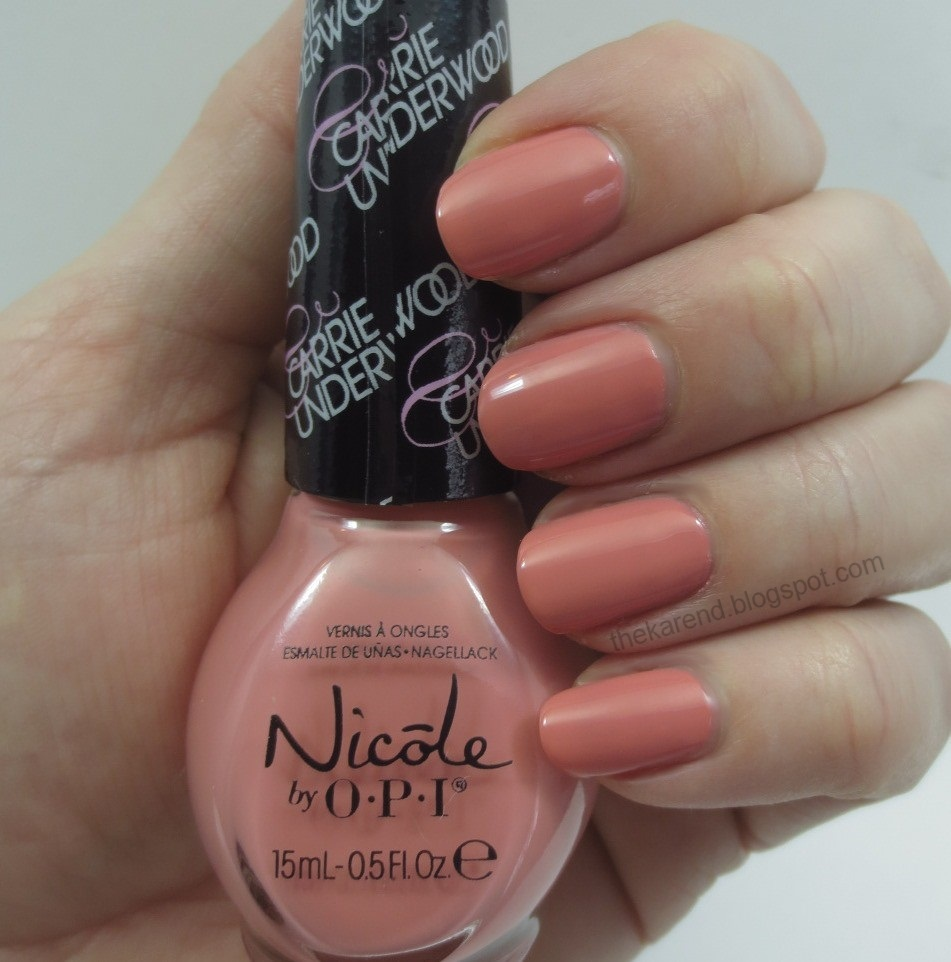 Frazzle and Aniploish: Nicole by OPI Carrie Underwood Collection ...
