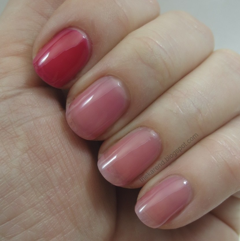 Frazzle and Aniploish: Sheer Comparisons Featuring OPI Tints and ...