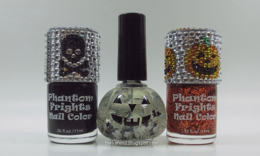 Frazzle and Aniploish: Halloween Novelty Polishes