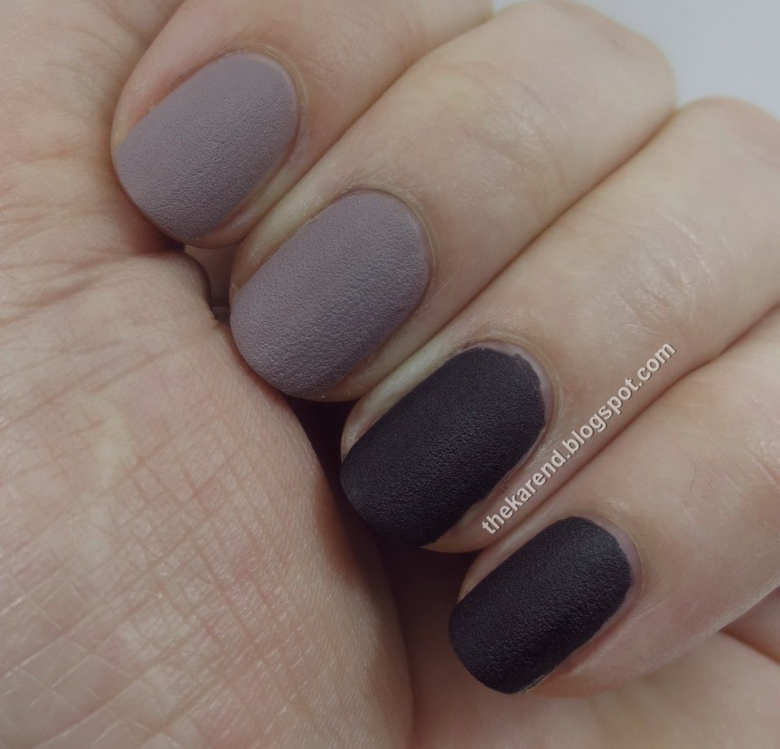 Frazzle and Aniploish: Sally Hansen Velvet Texture Swatches