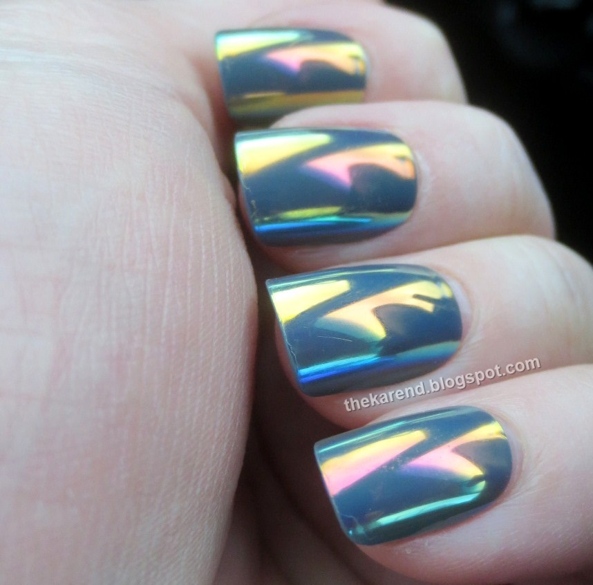 Frazzle and Aniploish: Recent NOTD: Ministry of Beauty Ultra-Reflect ...