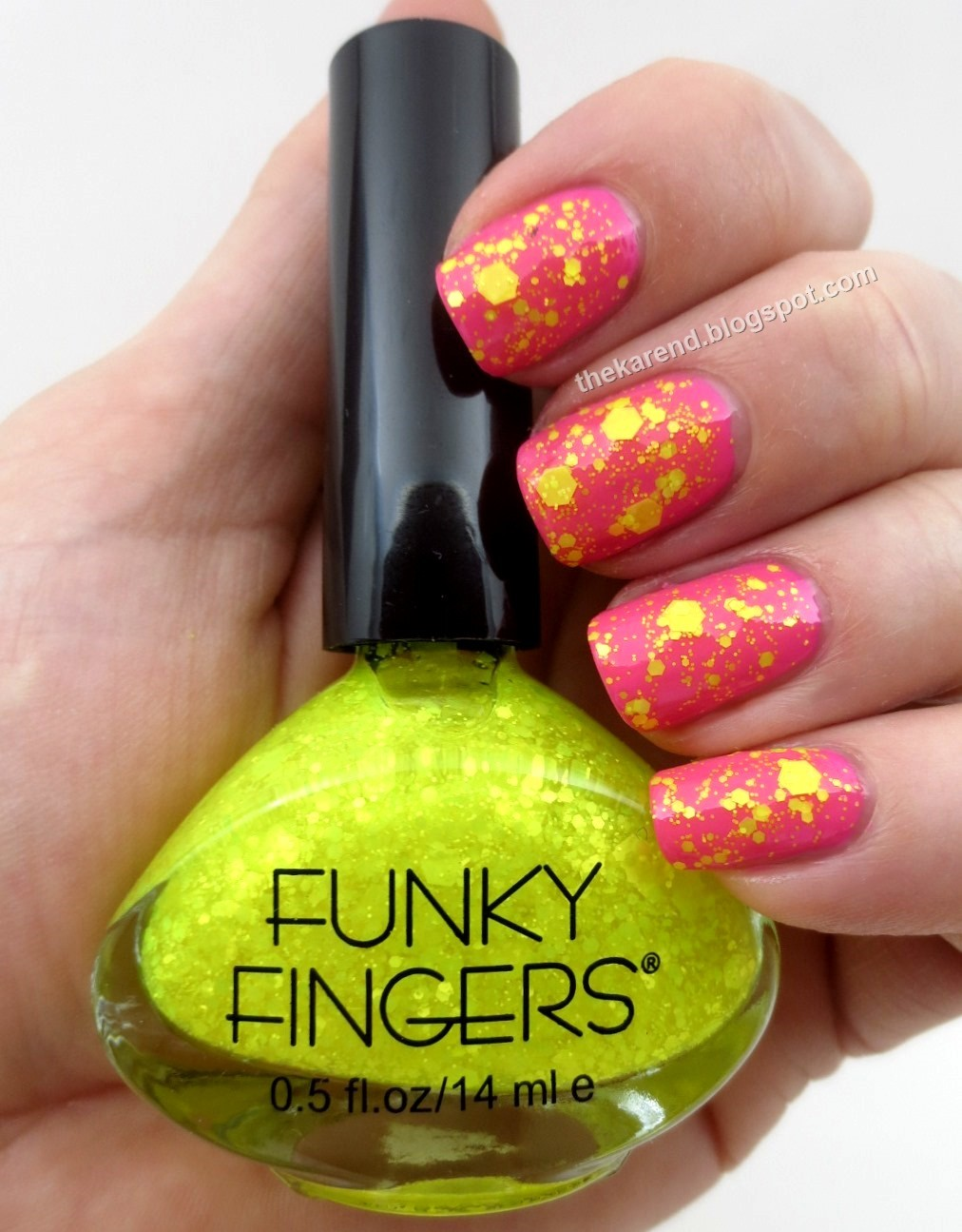 Frazzle and Aniploish: Funky Fingers Alex\'s Lemonade Polishes for 2015