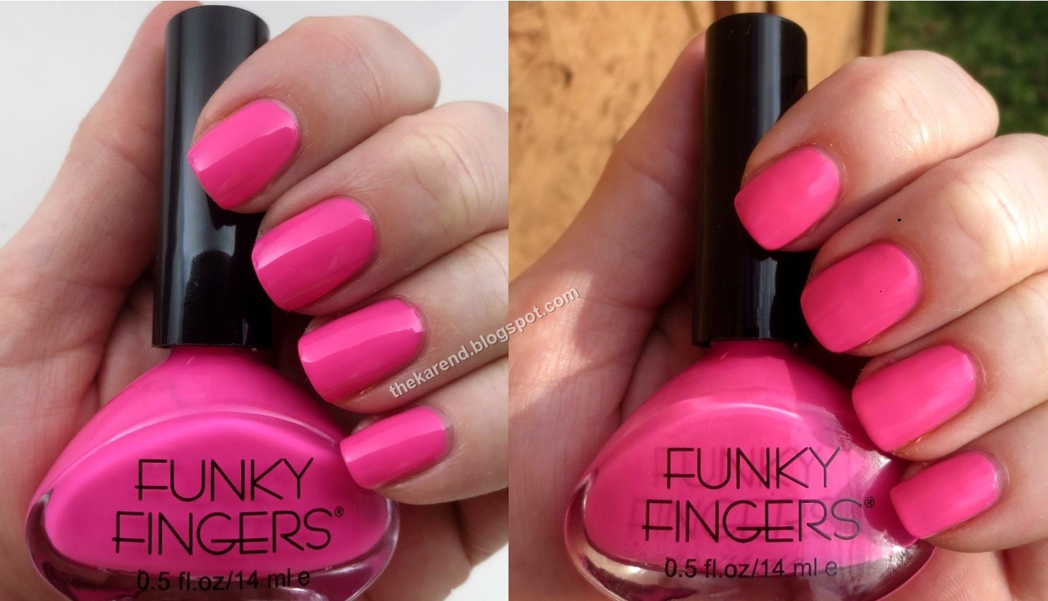 Frazzle and Aniploish: Funky Fingers Summer 2015 Solar Polishes