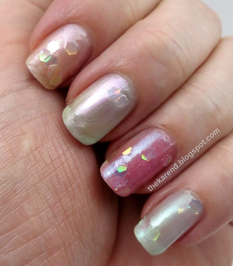 Frazzle and Aniploish: Sally Hansen Pearl Crush Swatches