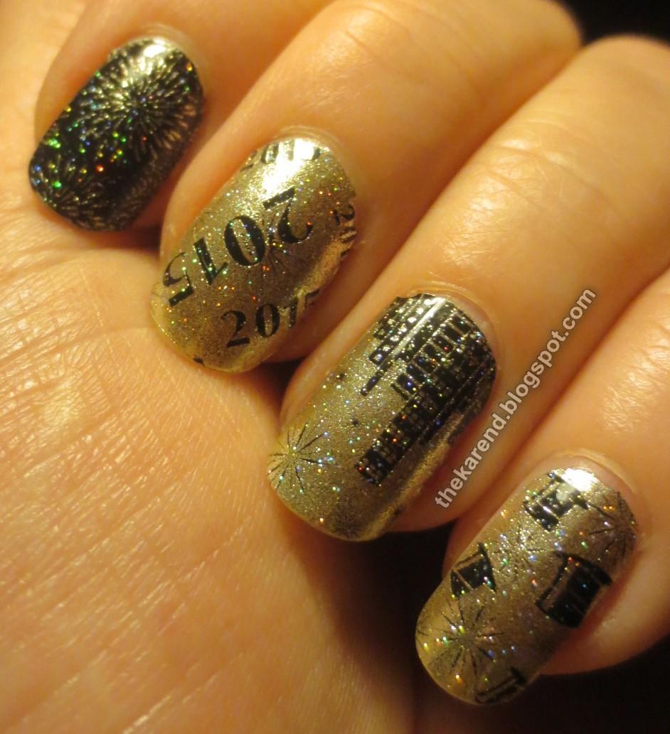 Frazzle and Aniploish: Recent NOTD: New Year\'s Refresh