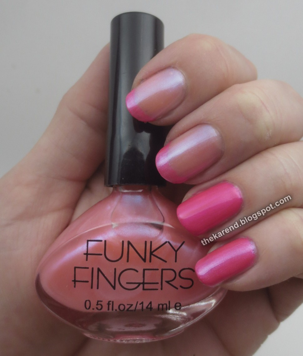 Frazzle and Aniploish: Funky Fingers Summer Beach Colors