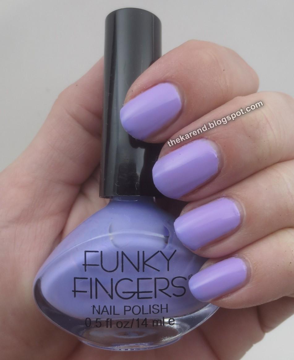 Funky Fingers Nail Polish Amazon - Creative Touch