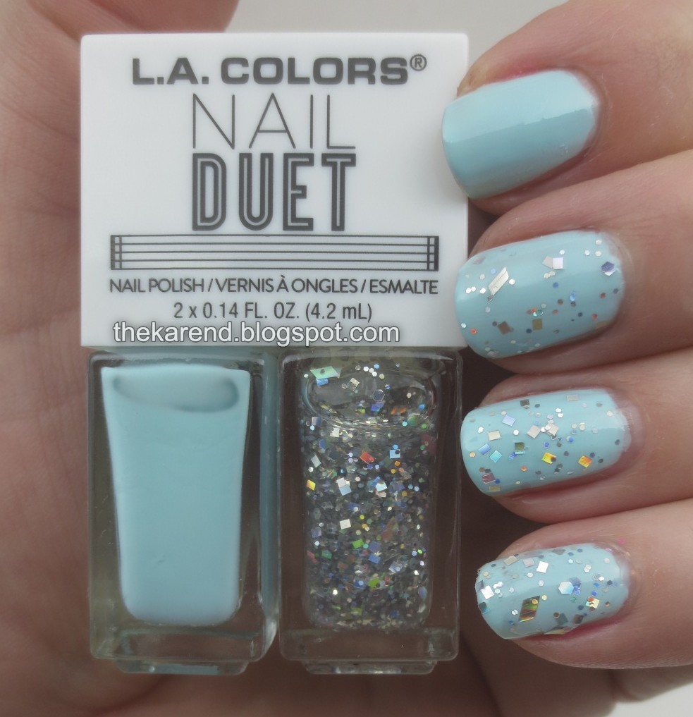 Frazzle and Aniploish: LA Colors Nail Duets, Part 1