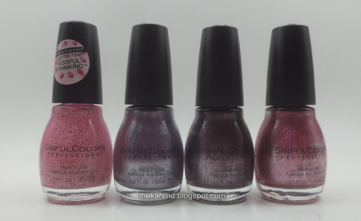 Frazzle and Aniploish: SinfulColors SWAK