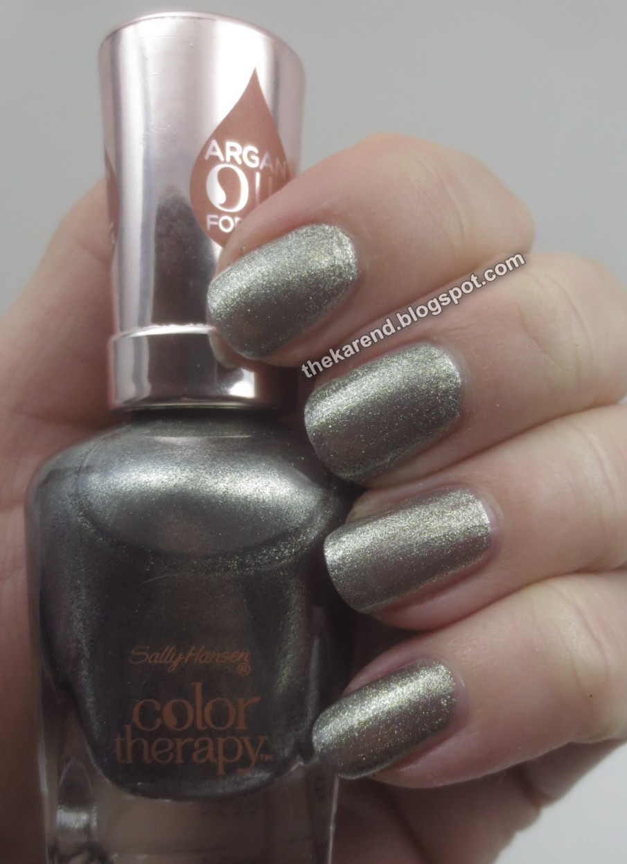 Frazzle and Aniploish: Sally Hansen Color Therapy