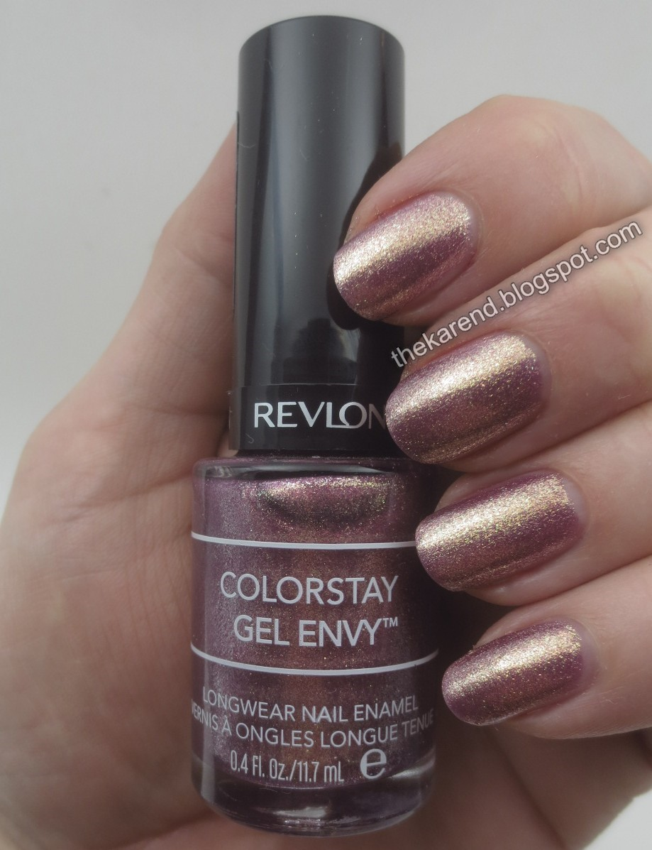Frazzle and Aniploish: Revlon ColorStay Gel Envy Duo