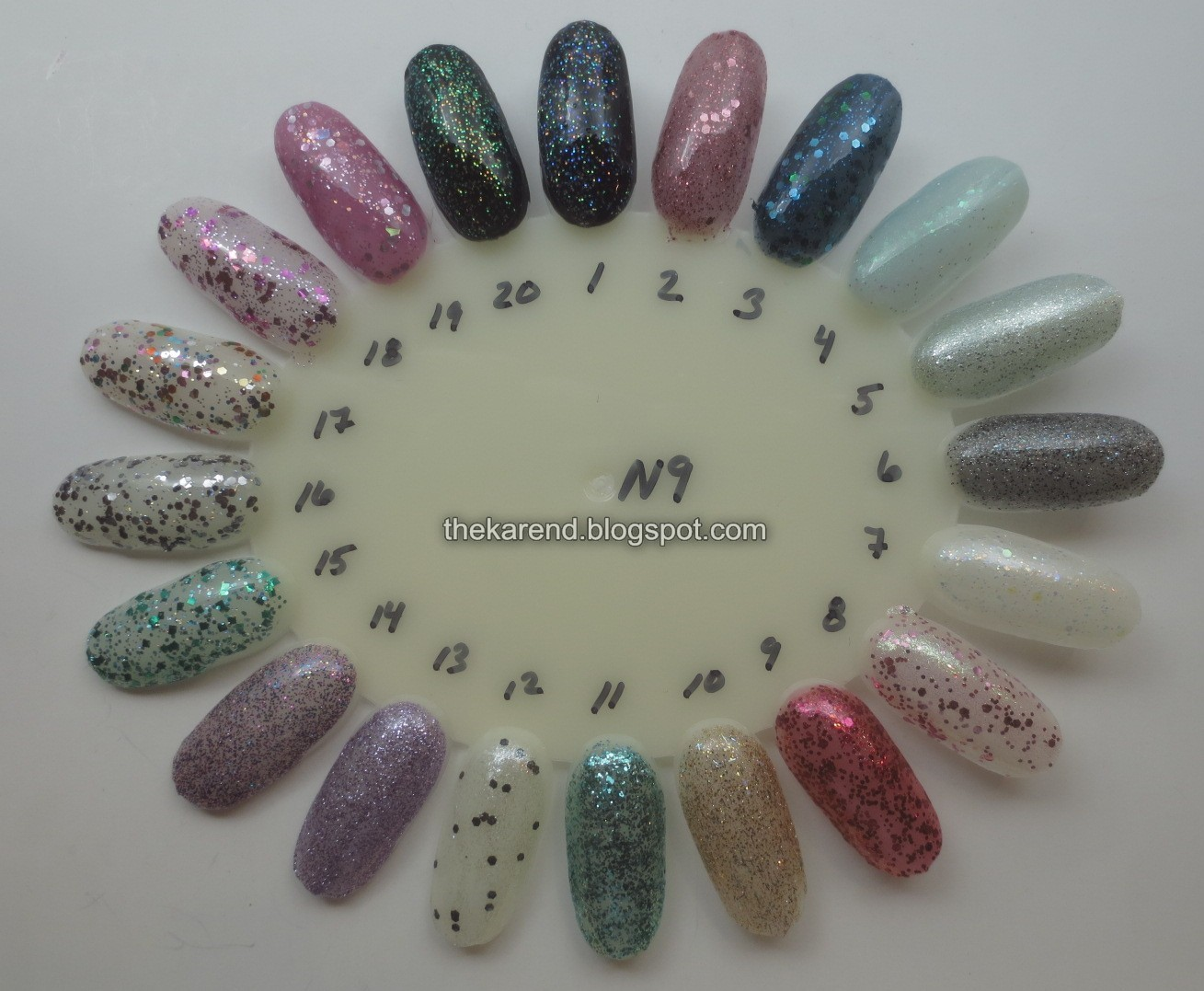 Frazzle and Aniploish: Wheel N9: Glitters from Essence