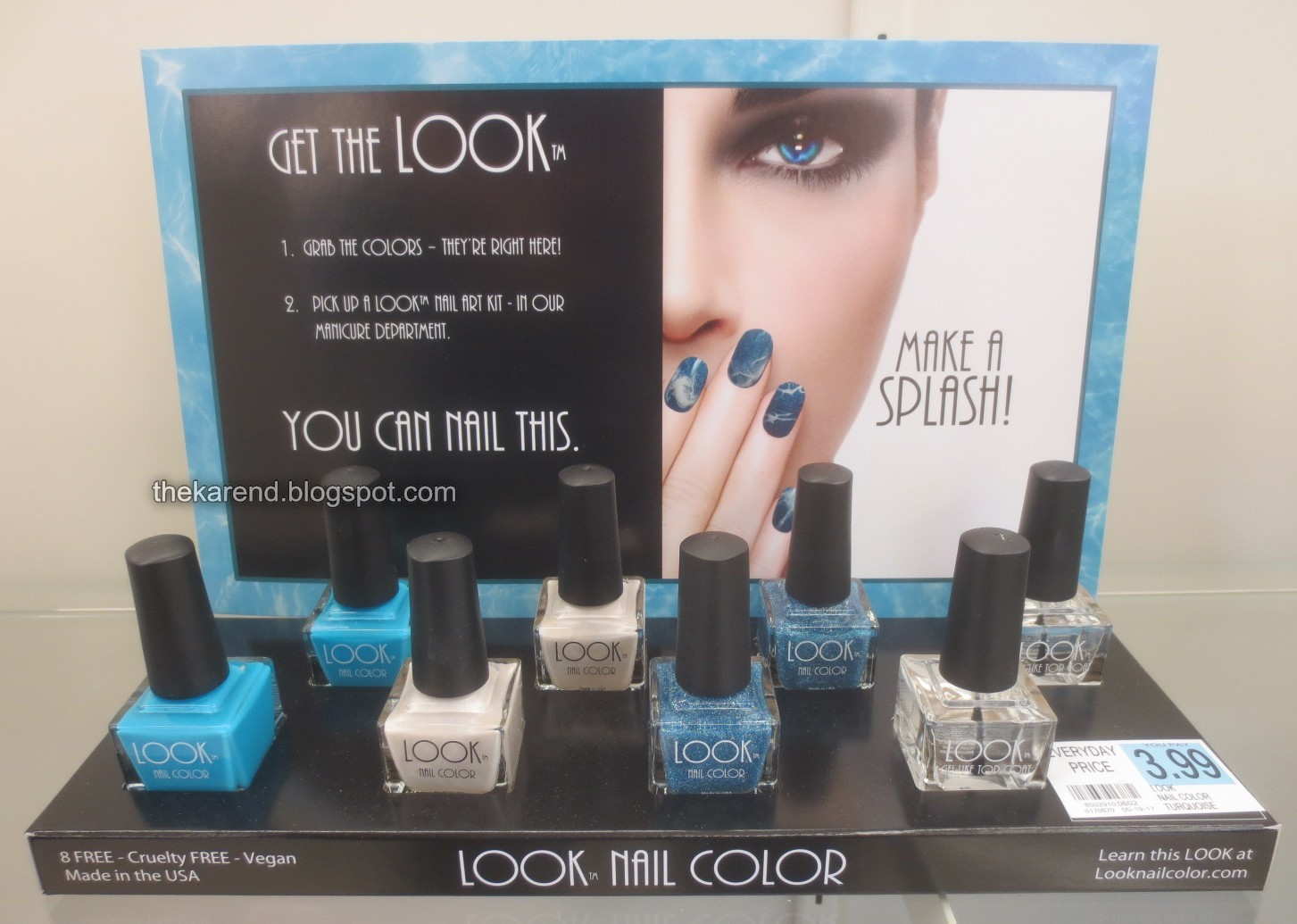 Frazzle and Aniploish: SinfulColors and Look Nail Color Summer Displays