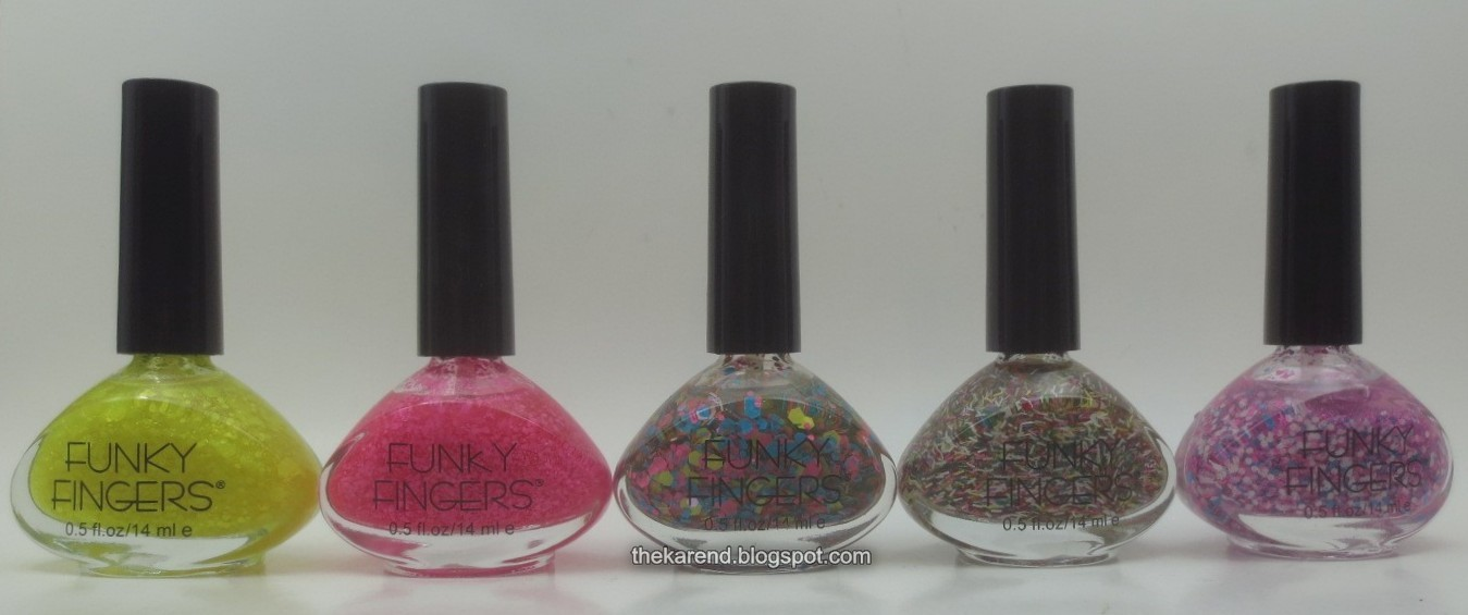 Wheel U9: Funky Fingers Glitters | Frazzle and Aniploish | Bloglovin\'
