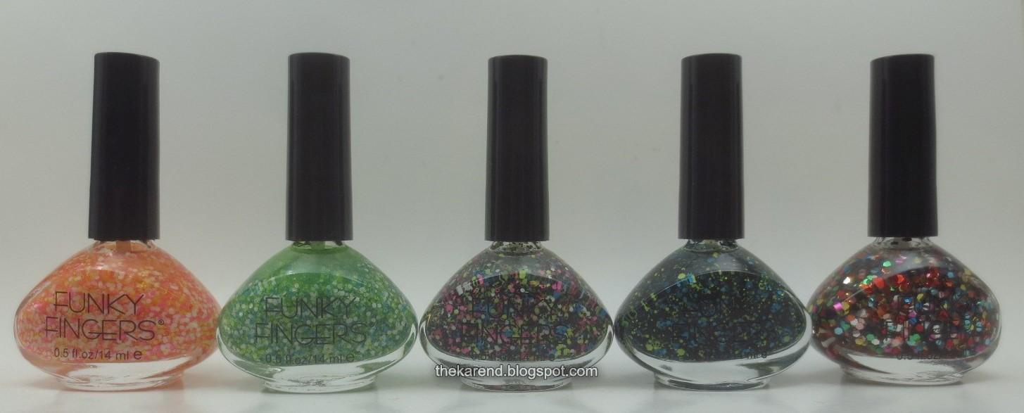 Wheel U9: Funky Fingers Glitters | Frazzle and Aniploish | Bloglovin\'