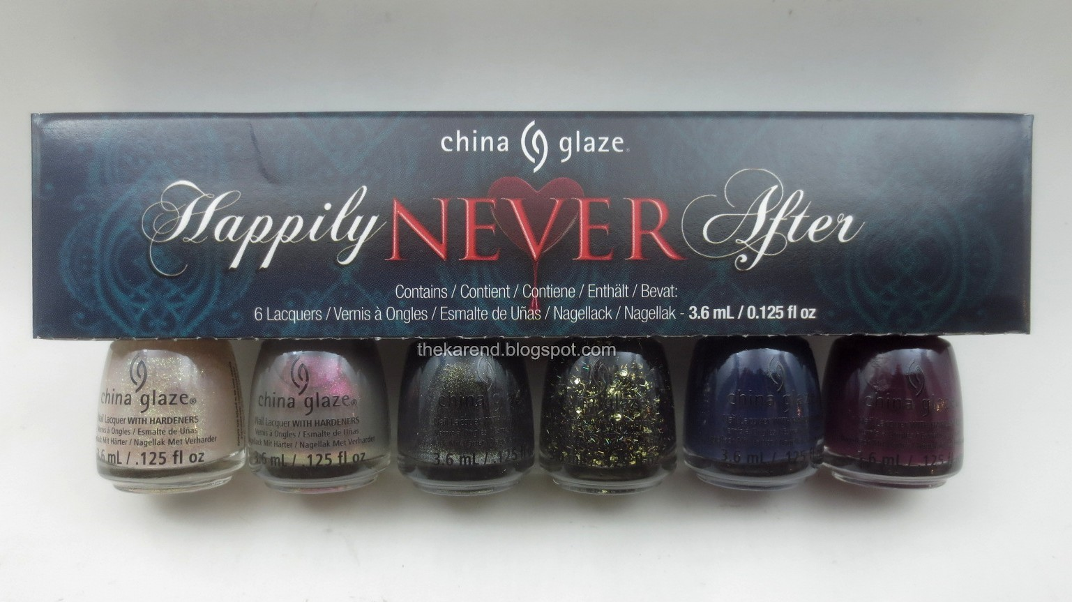 Frazzle and Aniploish: China Glaze Happily Never After