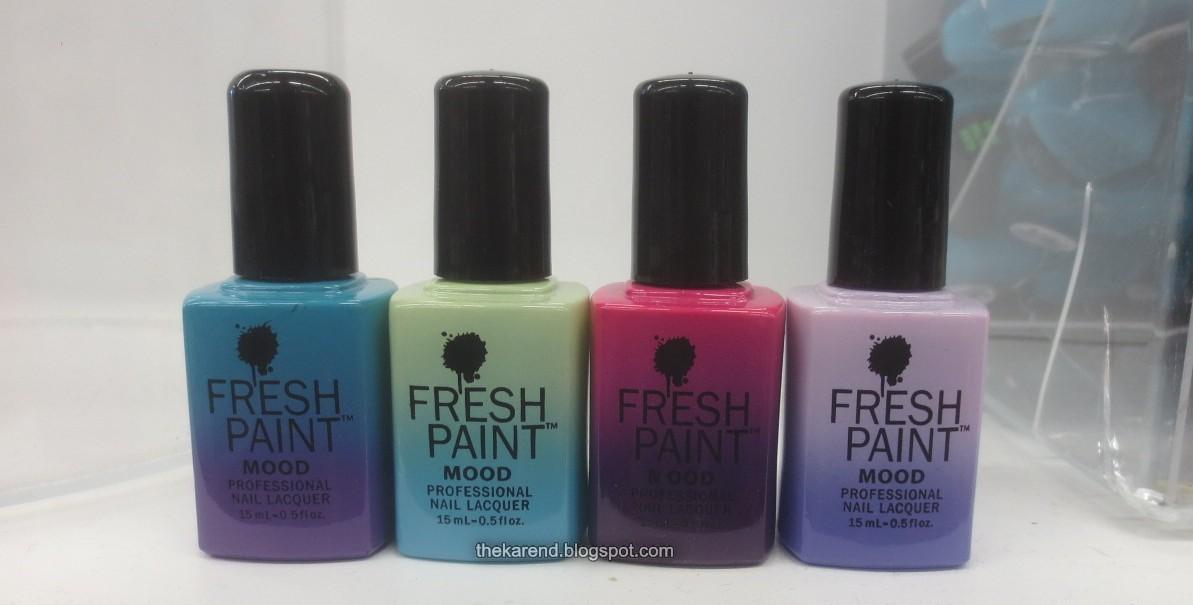 Fresh Paint Nail Polish Colors - Creative Touch