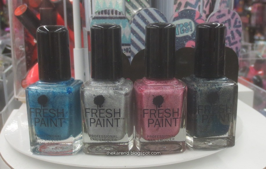 Fresh Paint Nail Polish Colors | Splendid Wedding Company