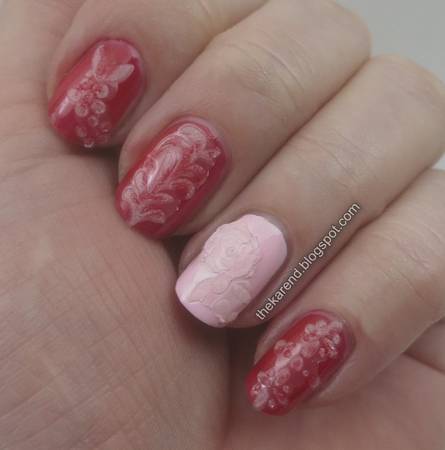 Frazzle and Aniploish: Sally Hansen Design 3D Dimensional Nail Stickers