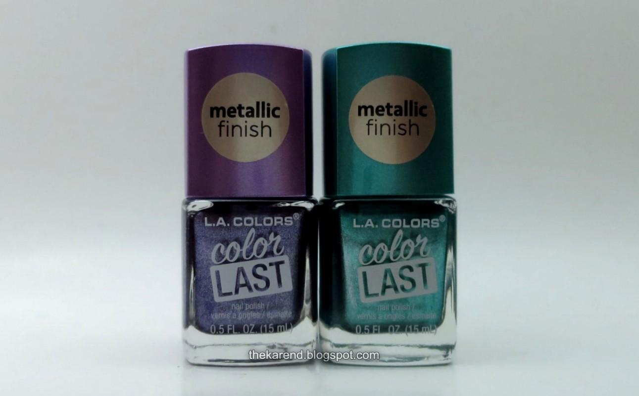 Frazzle and Aniploish: LA Colors Color Last Metallic Finish
