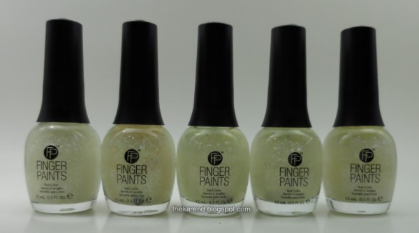 Finger Paints Kaleidoscope collection flakies nail polish bottles