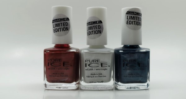 Pure Ice Sparkle Swag nail polish limited edition