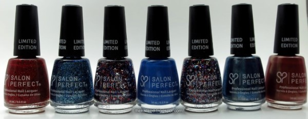 Salon Perfect Make Sparks Fly nail polish limited edition
