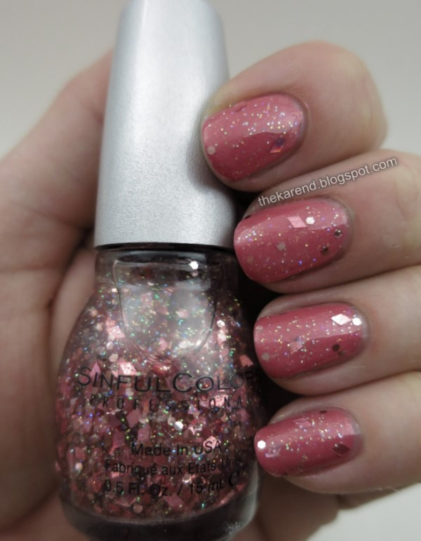SinfulColors Jelly Ellie and Shine on Me