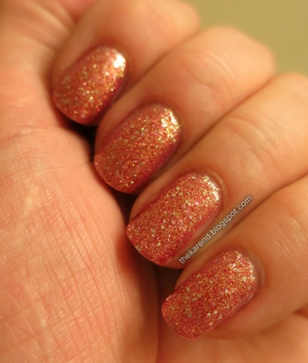 Salon Perfect Rose Gold Digger nail polish