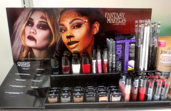 Wet n Wild Halloween display
