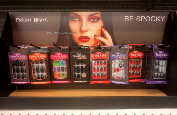 Fright Night nails display