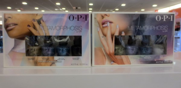 OPI Metamorphosis nail polish display