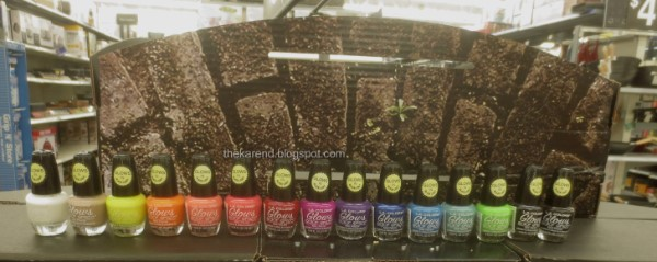 LA Colors Glows nail polish